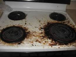 stove top how to clean stove top naturally