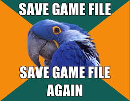 paranoid parrot know your meme