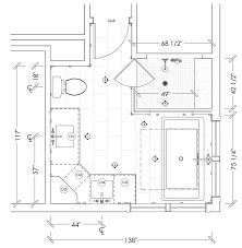 modern bathroom floor plans masculine modern farmhouse bathroom floor plan jillian lare des