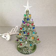 amazon com ceramic christmas tree 11