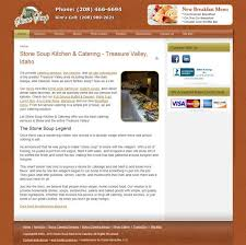 Home Design Interactive Website Website Redesign Stone Soup Kitchen And Catering Oasis Interactive