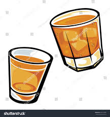 old fashioned cocktail clipart whiskey drinks tumbler shot glass stock vector 482716408