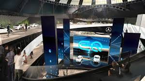 mercedes digital dashboard mercedes benz at the 2017 iaa