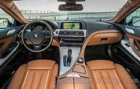 bmw 6 series interior 2015 bmw 6 series gran coupe facelift interior press