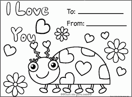 coloring pages valentines free printable kids coloring