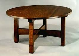 arts and crafts table for arts crafts round coffee table