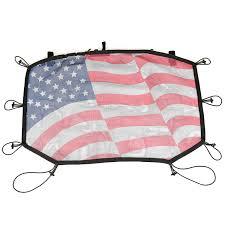 american flag jeep sun shade front american flag 07 17 jeep wrangler jk