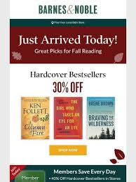 Barnes And Nobles Membership Barnes U0026 Noble Just Released Today 30 Off Hardcover