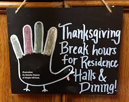 family video thanksgiving hours thanksgiving break hours for housing and dining uarkhome