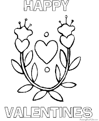 coloring pages valentines chuckbutt