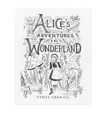 alice sketch art print by rifle paper co made in usa