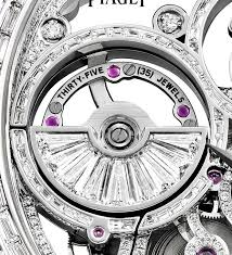 piaget tourbillon piaget s new emperador coussin tourbillon diamond set skeleton