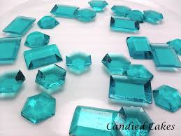 edible candy jewelry 250 turquoise edible sugar jewels candied cakes online store