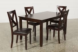 Living Spaces Dining Table Set by Dakota 5 Piece Dining Table W Side Chairs Living Spaces Home