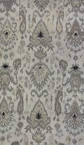 lb hand tufted wool natural floral rug mathis brothers furniture