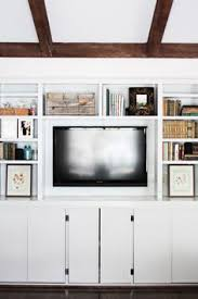 Built In Bookshelves Around Tv by Canada Desks Built Ins And Living Rooms