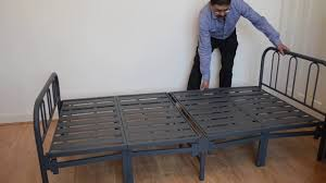 presenting the texas contract metal folding bed youtube