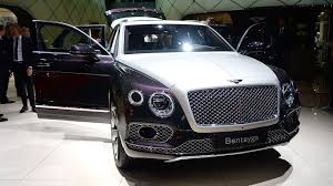 bentayga mulliner new suvs and crossovers revealed at geneva motoring research