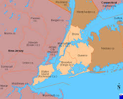 map of new city clickable map of new york city ny united states