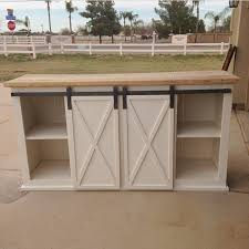 Sliding Barn Door Construction Plans Ana White Grandy Sliding Door Console Diy Projects