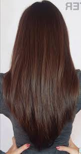 hairstyles back view only long v layered haircut back view best 25 v layered haircuts ideas