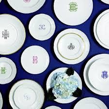 wedding registry combine 104 best dinnerware monogrammed images on wedding