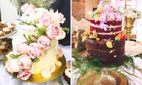 wedding cakes that are too pretty to eat