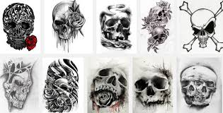 top 10 skull tattoos designs designs