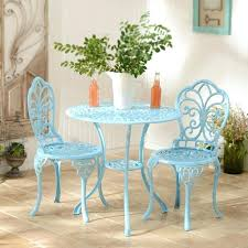 Iron Bistro Table Vintage Garden Bistro Table And Chairs Outdoor Bistro Table And