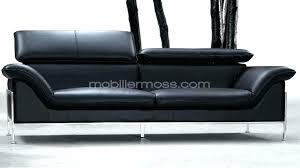 canapé lit en cuir canape lit 3 places convertible 2 canapacs convertibles habitat