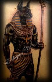 Anubis Tattoo Ideas Egyptian Symbols For Anubis Tattoos Egyptian Tattoo Designs
