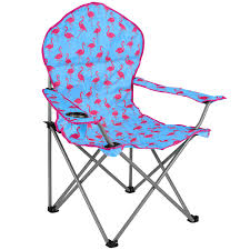 Deluxe Camping Chairs Trail Padded Funky Flamingo Festival Chair U2013 Watermelon This Is