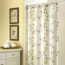shower curtain with window bathroom decoration