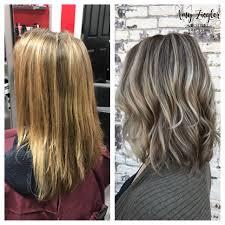 ash blonde highlight lowlight transformation by askforamy