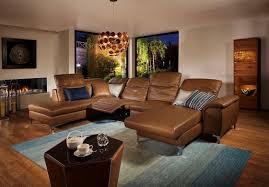 canapé angle u grand canapé d angle en u suprêmerelax électrique cuir ou tissu