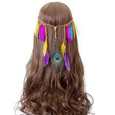 peacock feather headband 11 styles tribal yard