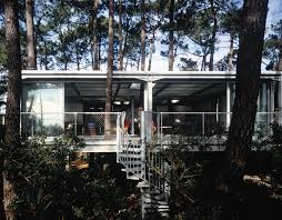 house among the trees house in lège cap ferret metalocus
