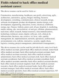 Resume Examples For Medical Assistants by Top 8 Back Office Medical Assistant Resume Samples