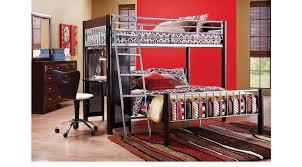 Dorm Room Furniture Dorm Room Merlot 4 Pc Twin Twin Loft Bedroom Bunk Loft