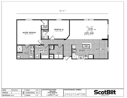fleetwood manufactured home floor plans 24 wide jones u0026 veal mobile homes featuring scotbilt and