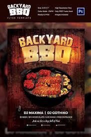 Backyard Bbq Party Menu 28 Bbq Flyer Templates Free Word Pdf Psd Eps Indesign