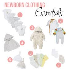 newborn essentials newborn clothing essentials from mummy