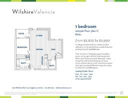 apartments for rent at wilshire valencia 1515 wilshire blvd los