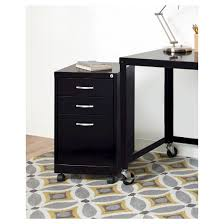 Three Drawer File Cabinet by Hirsh Industries Office Dimensions File Cabinet On Wheels 3