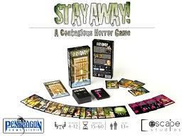 film quote board game stay away a contagious horror game escape studios