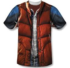Marty Mcfly Costume Marty Mcfly U0027s In T Shirt Form Technabob