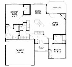 Karsten Homes Floor Plans Plan 1179 Ranch Style Small House Plan 2 Bedroom Split House