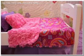 beddings for girls free american doll bedding pattern