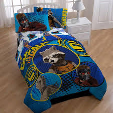 marvel guardians of the galaxy twin full bedding comforter