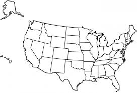 us map states by color map of united states coloring page coloring